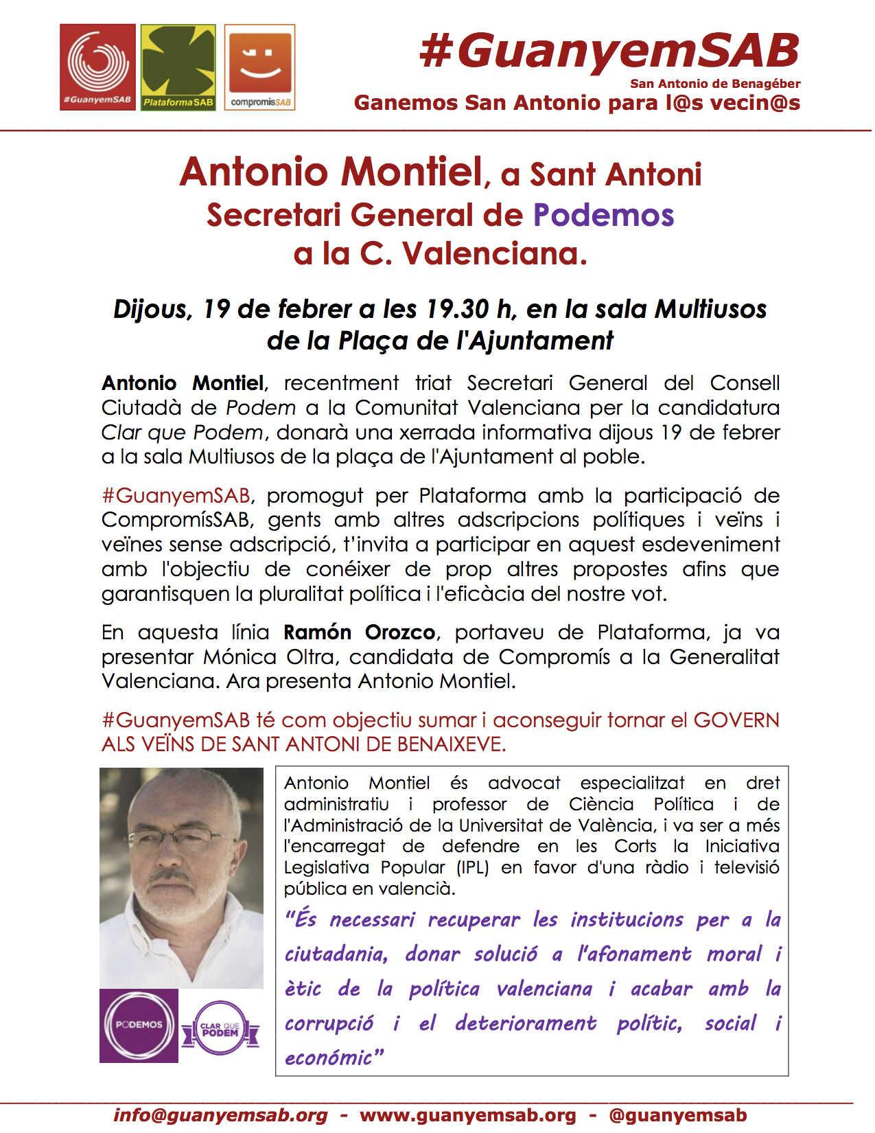Acto de Antonio Montiel 19 febrero 2015  VALENCIANO V3 COLOR