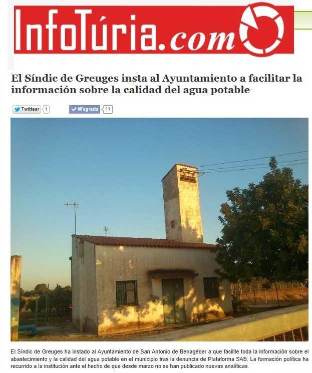 Infoturia Sindic insta info agua 12 noviembre 2014