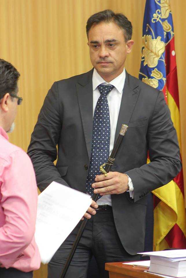 Alcalde Santafosta Investidura