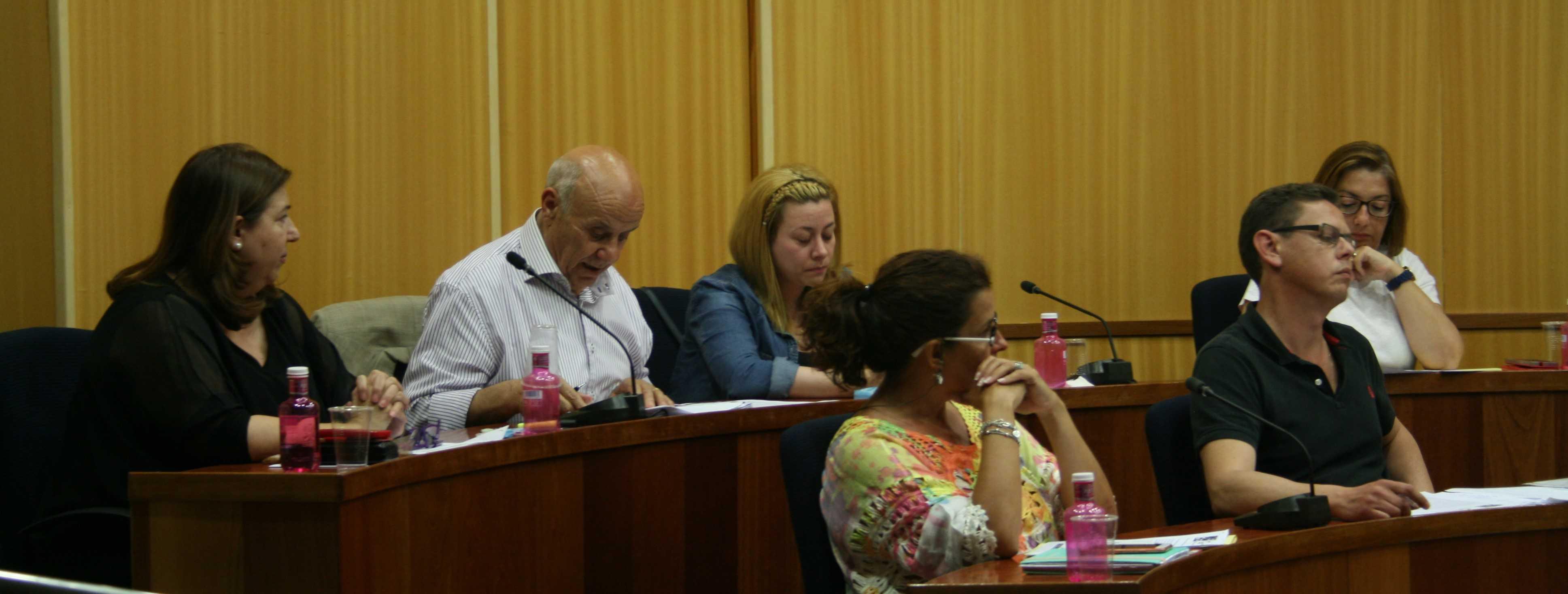 Plenari Ordinari Ajuntament SAB 31-05-2016 bancada derecha