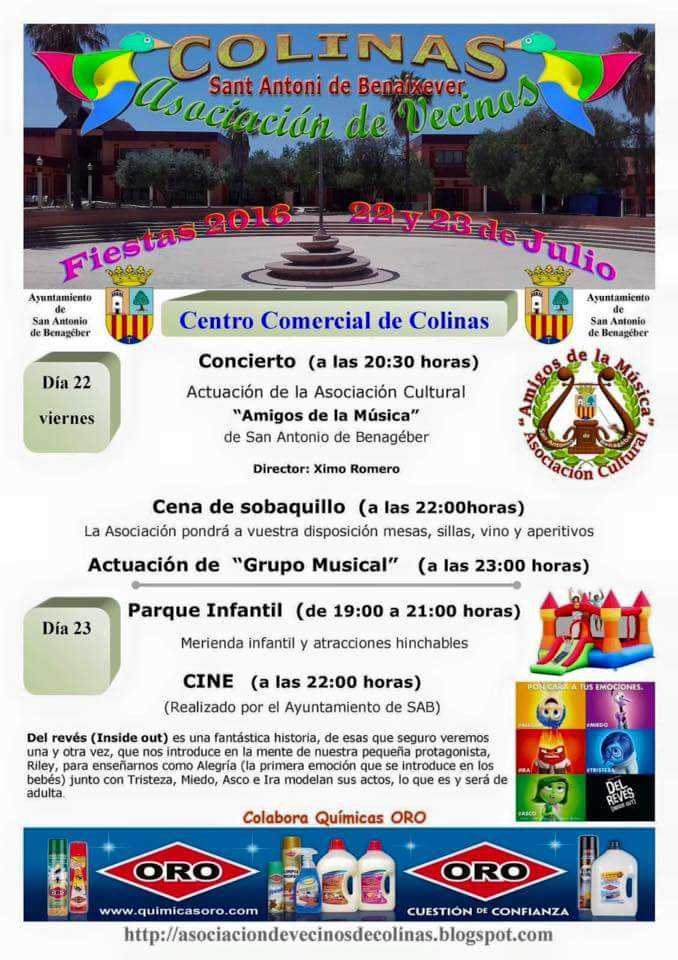 Fiestas AVV COLINAS