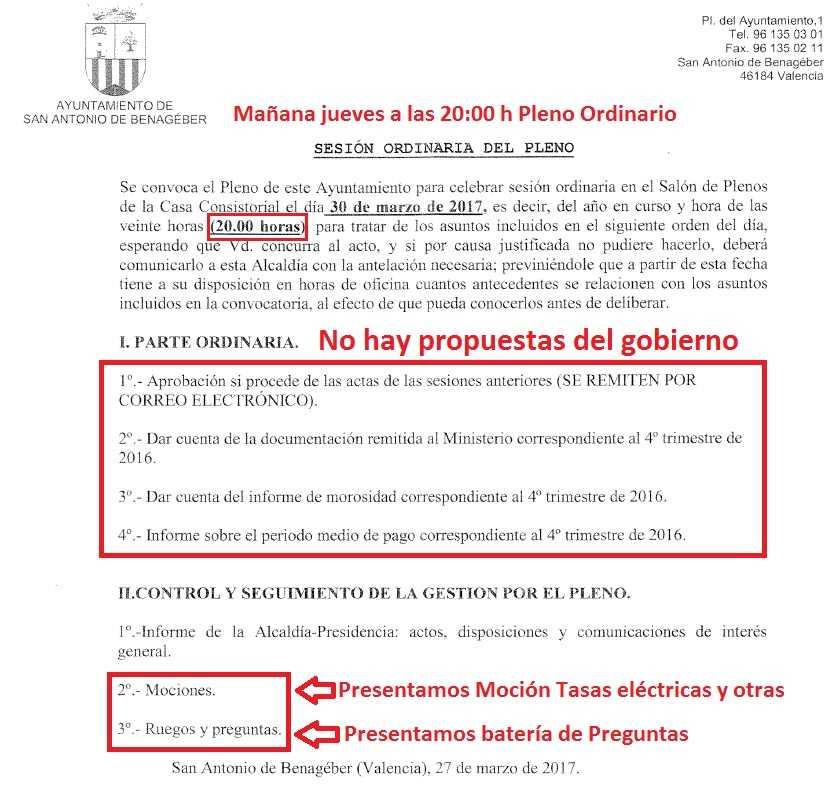 OD Pleno 30 marzo 2017