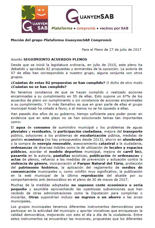 MOCION SEGUIMIENTO ACUERDOS DE PLENO PAG 1